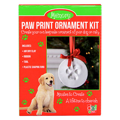 Paw Print Ornament Kit  (Click for Larger Image)
