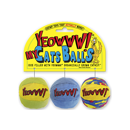 Yeowww Catnip Toys 3-Packs (Click for Larger Image)