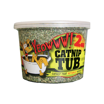 Yeowww! Catnip Tub (Click for Larger Image)