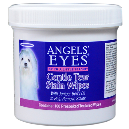 Angels' Eyes Gentle Tear Stain Wipes (Click for Larger Image)