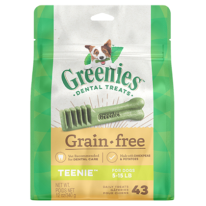 Greenies Grain Free Dental Treats for Dogs (Click for Larger Image)