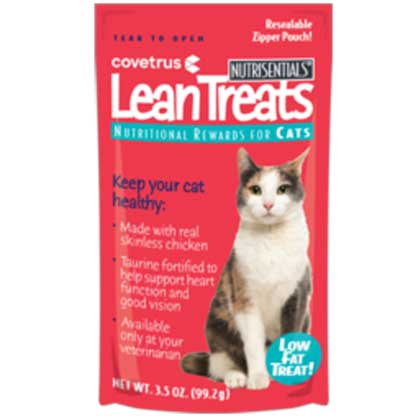 Nutrisentials Lean Treats for Cats (Click for Larger Image)