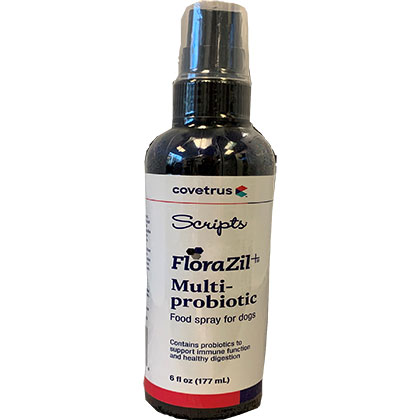 Scripts Florazil Multi Probiotic Food Spray For Dogs