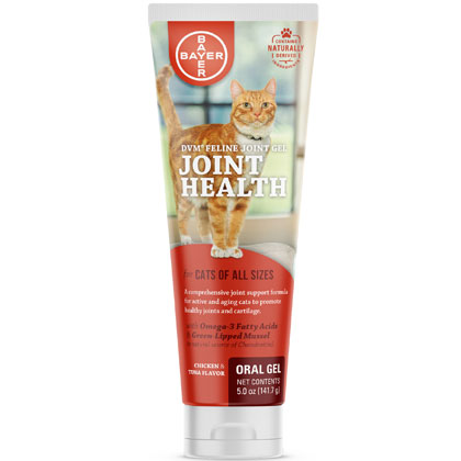 DVM Feline Joint Gel (Click for Larger Image)