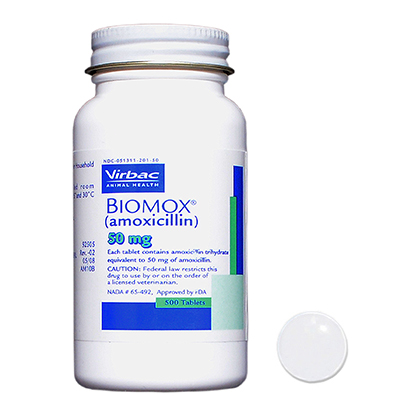 BIOMOX (amoxicillin) Tablets (Click for Larger Image)
