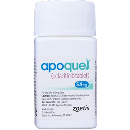 Image of Allergy Relief Medication, Apoquel 5.4 mg (sold per tablet) by Zoetis