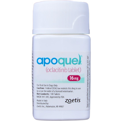 Image of Allergy Relief Medication, Apoquel 16 mg (sold per tablet) by Zoetis