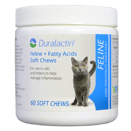 Duralactin Feline + Fatty Acids Soft Chews (Click for Larger Image)