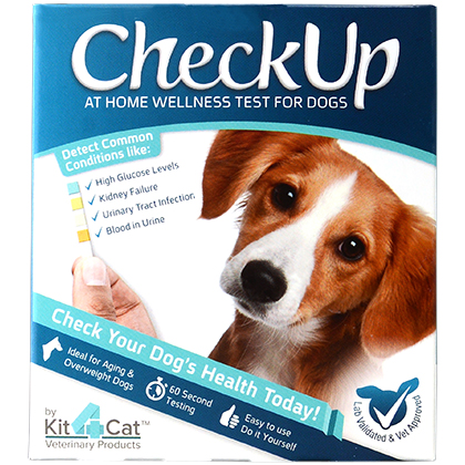 CheckUp At Home Wellness Test for Dogs (Click for Larger Image)