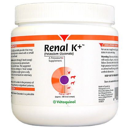 Vetoquinol Renal K Plus Powder (Click for Larger Image)