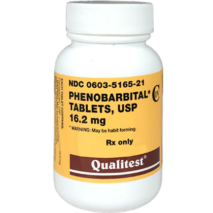 Phenobarbital Tablets 16 2 mg (sold per tablet)