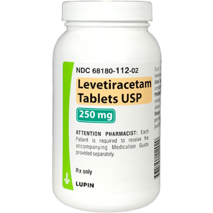 Levetiracetam (Click for Larger Image)