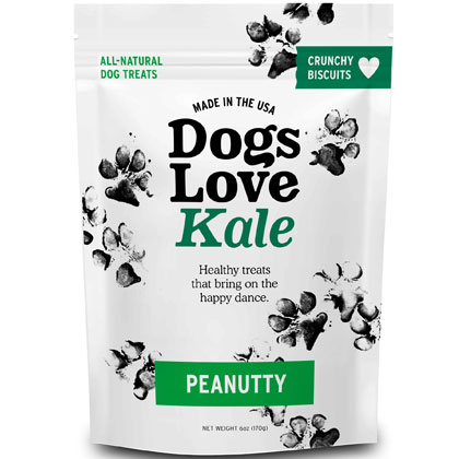 Dogs Love Kale All Natural Wheat Free Dog Treats (Click for Larger Image)