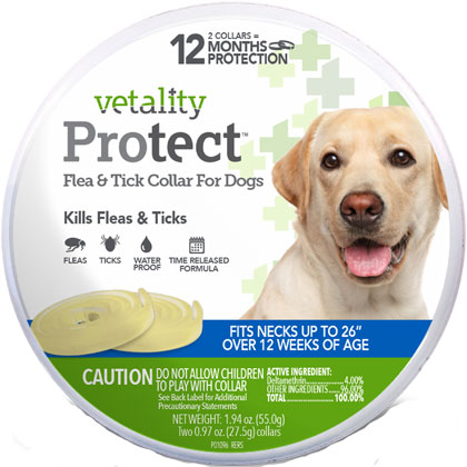 Vetality Flea & Tick Collar (Click for Larger Image)