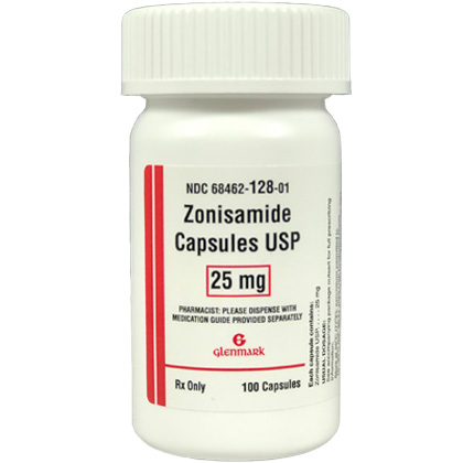 Zonisamide Capsules (Click for Larger Image)