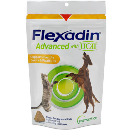Flexadin Advanced Chews with UC-II (Click for Larger Image)