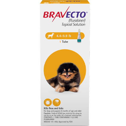 Bravecto Topical for Dogs (Click for Larger Image)