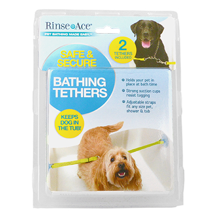 Rinse Ace Pet Bathing Tethers (Click for Larger Image)