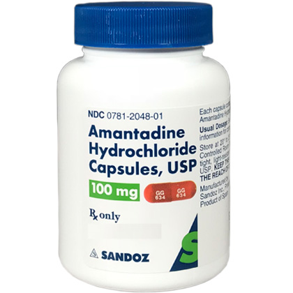Amantadine (Click for Larger Image)