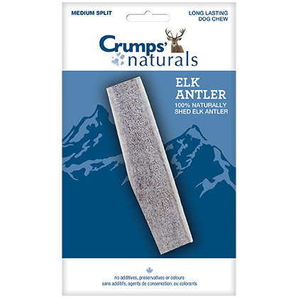 Crumps' Naturals Elk Antler Dog Chew (Click for Larger Image)