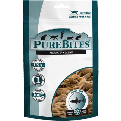 Image of PureBites Freeze-Dried Cat Treats Minnow 1.09 oz by 1-800-PetMeds