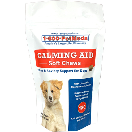 Calming Aid Soft Chews (Click for Larger Image)