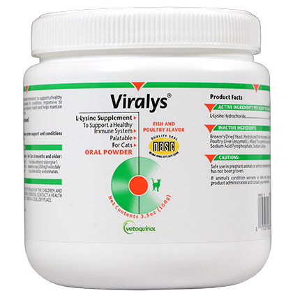 Viralys Oral Powder (Click for Larger Image)