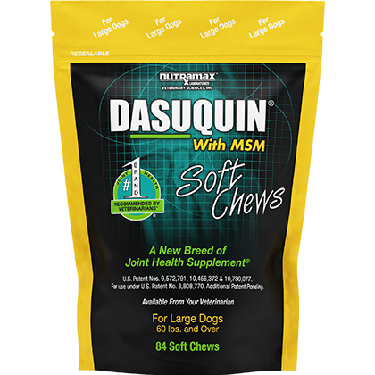 Dasuquin with MSM Soft Chews for Dogs Large Dogs 60+ lbs 84 ct