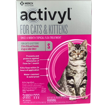 Activyl 3pk Cats and Kittens by MERIAL