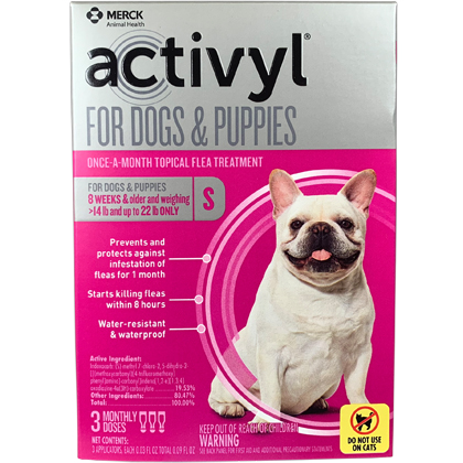 Image of Activyl 3pk Dogs 14-22 lbs