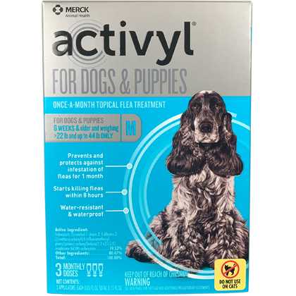 Image of Activyl 3pk Dogs 23-44 lbs