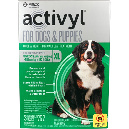 Activyl 3pk Dogs 88-132 lbs by MERIAL