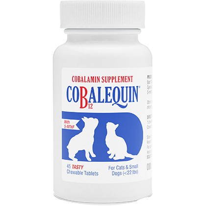 Cobalequin Chewable Tablets for Cats and Small Dogs 45 ct by 1-800-PetMeds