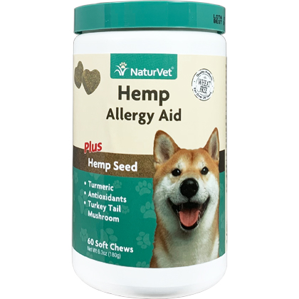 Hemp Allergy Aid Soft Chews (Click for Larger Image)