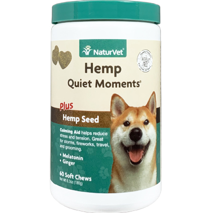 Hemp Quiet Moments Calming Aid Soft Chews (Click for Larger Image)
