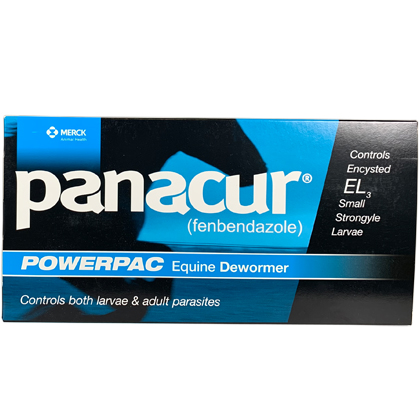 Panacur Paste Equine Dewormer (Click for Larger Image)