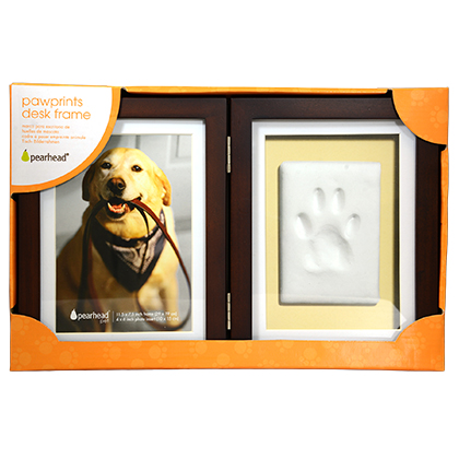 Pearhead Pawprints Keepsake Frame (Click for Larger Image)