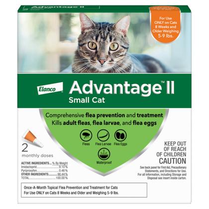 Advantage II 2pk Cat 5-9 lbs