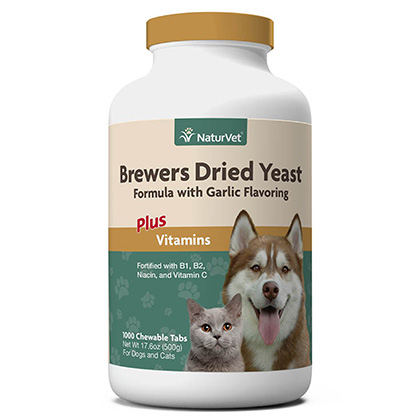 NaturVet Brewer's Dried Yeast with Garlic (Click for Larger Image)