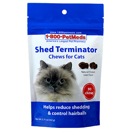 Shed Terminator Chews For Cats (Click for Larger Image)