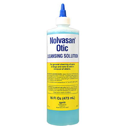 Nolvasan Otic Cleansing Solution (Click for Larger Image)
