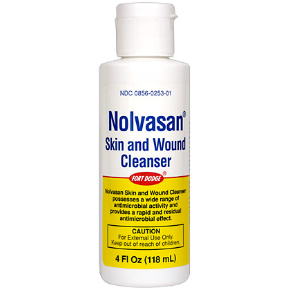 Nolvasan Skin & Wound Cleanser (Click for Larger Image)