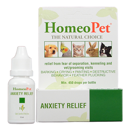 HomeoPet Anxiety Relief (Click for Larger Image)