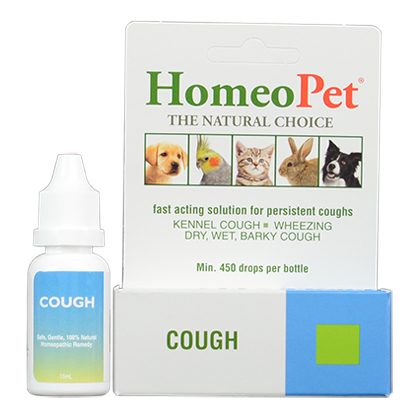 HomeoPet Cough Relief 15ml Bottle