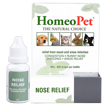 HomeoPet Nose Relief (Click for Larger Image)