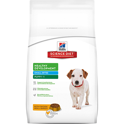 Hill's Science Diet Puppy Healthy Development Small Bites Dry Dog Food (Click for Larger Image)