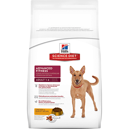 Hill's Science Diet Adult Advanced Fitness Dry Dog Food Chic