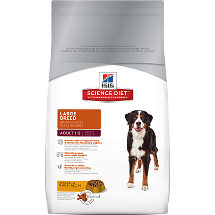 Hill's Science Diet Adult Large Breed Dry Dog Food (Click for Larger Image)