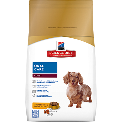 Hill's Science Diet Adult Oral Care Dry Dog Food (Click for Larger Image)