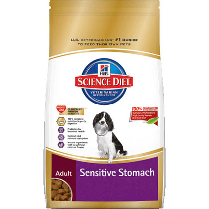 Hill's Science Diet Adult Sensitive Stomach Dry Dog Food (Click for Larger Image)